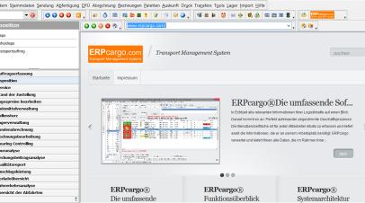 ERPcargo® Funktionsüberblick